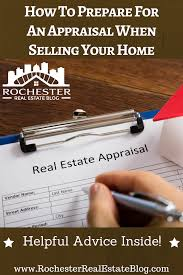 How should I prepare for an appraisal?